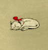 Illustration By Cecil Aldin  The White Kitten Book Poster Print By Mary Evans Picture Library - Item # VARMEL10981486