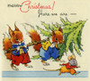 Bringing Home The Christmas Tree Poster Print By Mary Evans / Peter & Dawn Cope Collection - Item # VARMEL10573218