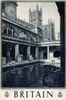 Britain Poster  Bath  Roman Baths And Abbey Poster Print By Mary Evans Picture Library/Onslow Auctions Limited - Item # VARMEL10720082