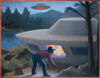 Ufos/Michalak Poster Print By Mary Evans Picture Library/Michael Buhler - Item # VARMEL10034731