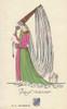 Woman In Old Manor Medieval Costume Poster Print By ® Florilegius / Mary Evans - Item # VARMEL10940913