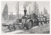 Steam Traction Engine Poster Print By Mary Evans Picture Library - Item # VARMEL10149173