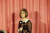 1968 Barbra Streisand Holds Her Best Actress Oscar For Funny Girl History - Item # VAREVCSSDOSPIEC022