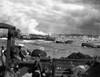 U.S. Landing Craft Approaching Omaha Beach In Normandy Beach On Dec. 6 History - Item # VAREVCHISL037EC186