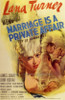 Marriage is a Private Affair Movie Poster Print (27 x 40) - Item # MOVCF0334