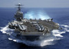 The Nuclear Powered Aircraft Carrier Uss Carl Vinson In Indian Ocean During The Second Gulf War. March 15 2005. History - Item # VAREVCHISL028EC042