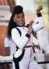 Janelle Monae On Stage For Nbc Today Show Concert With Janelle Monae, Rockefeller Plaza, New York, Ny August 14, 2015. Photo By LeeEverett Collection Celebrity - Item # VAREVC1514G05DZ007