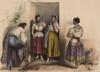 A Man And Three Women From Puebla History - Item # VAREVCHISL017EC134