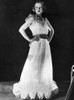 A Woman Models A Gown Made Of Spun Glass The Gown Is No Heavier Than One Made Of Taffeta History - Item # VAREVCSBDFASHCS021