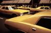 1970S America. Yellow Taxi Cabs On 5Th Avenue Near 48Th Street. Manhattan History - Item # VAREVCHCDARNAEC019