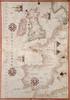 1590 Nautical Map Of Wesern Europe History - Item # VAREVCHISL001EC155