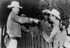 Police Chief Instructs Officers And Young Men On The Other Side Of A Fence History - Item # VAREVCHISL034EC608