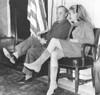 Randolph Churchill With His Daughter Arabella At U.S. Senate Hearing History - Item # VAREVCCSUB001CS818