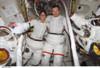 International Space Station Activity. Astronauts Sunita Williams And Michael Lopez-Alegria History - Item # VAREVCHISL034EC001