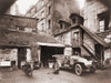 Automobile And Two Motorcycles In Courtyard On Rue De Valence History - Item # VAREVCHISL014EC261