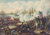Gen. Andrew Jackson On Horseback Commanding Us Troops In Battle Of New Orleans. British Troops In Redcoats History - Item # VAREVCHISL045EC001