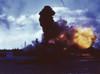 Uss Arizona Burns At Pearl Harbor After Japanese Attack History - Item # VAREVCHISL036EC288