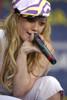 Hilary Duff Performs Live On Good Morning America Summer Concert Series In Bryant Park On July 16, 2004 In New York City. Celebrity - Item # VAREVC0416JLAAJ001