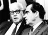 President Richard Nixon With Afl-Cio President George Meany History - Item # VAREVCCSUB002CS618