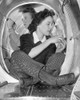 Two Women Workers In A Cramped Aircraft Space At Grumman Aircraft Engineering Corp. During World War 2 History - Item # VAREVCHISL036EC808