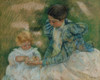 Mother Playing With Child Fine Art - Item # VAREVCHISL044EC554