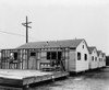 Four Small Completed Mobile Homes With Another Partially Built. Built By Mobilhome Corporation Of California In The 1940S. History - Item # VAREVCHISL038EC399