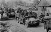 German Soldiers Invade Poland In Armored And Motorized Divisions In Sept. 1939. It Was The Beginning Of World War 2. In Europe. History - Item # VAREVCHISL037EC003