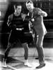 Ruldolph Valentino And Heavyweight Boxing Champion Jack Dempsey At5 Valentino'S Studio In Hollywood. Ca. 1925. Courtesy Csu ArchivesEverett Collection History - Item # VAREVCPBDJADECS009