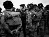 General Eisenhower Talks With Paratroopers Of The 101St U.S. Airborne Before D-Day. They Jumped Behind The Normandy Beaches To Cut Vital Transportation And Communication Line And World War 2. History - Item # VAREVCHISL037EC238