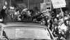 Nixon Presidency. Us President Richard Nixon And First Lady Patricia Nixon On A Campaign Tour Of New York City History - Item # VAREVCPBDRINIEC109