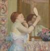 Woman With A Mirror Fine Art - Item # VAREVCHISL045EC379