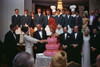 Lady Bird Johnson Thanks Carol Channing And Cast Members After Their White House Performance Of The Hit Broadway Musical History - Item # VAREVCHISL033EC131