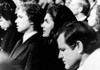 The Kennedy Family Attends A Funeral Ethel Kennedy History - Item # VAREVCHBDKEFACS001
