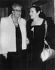 Eleanor Roosevelt And Novelist Fannie Hurst. 1962. Hurst Is Most Remembered For The 1934 And 1959 Screen Adaptations Of Her Novel Examining Race Relations History - Item # VAREVCHISL035EC545