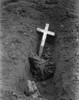 Charred Remains Of An American Pow Captured At Bataan By Japanese In May 1942. This Is The Grave Of More Than 100 U.S. Soldiers Who Died During Captivity. World War 2 History - Item # VAREVCHISL036EC361