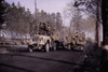 U.S. African American Troops Leaving Front-Line Duty As Others Move Toward Fighting. Black Volunteers Fought Beside Whites For The First Time In The Battle Of The Bulge History - Item # VAREVCHISL037TX265