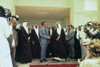 President Nixon Shaking Hands With King Faisal Following Talks At Riasa Palace In Saudi Arabia. July 15 1974. History - Item # VAREVCHISL032EC209