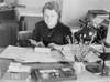 German Woman Office Worker At The Deutsche Akademie History - Item # VAREVCHISL037EC917
