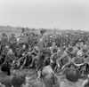 Private Mickey Rooney Entertains Infantry Men Of The 44Th Division In Kist History - Item # VAREVCHISL036EC498