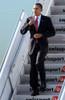 Barack Obama At A Public Appearance For Us President Barack Obama Arrives To Visit The Joint Terrorism Task Force Headquarters, John F. Kennedy International Airport, New York, Ny October 20, 2009. Photo By Kristin - Item # VAREVC0920OCIKH005
