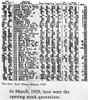 The Opening Stock Quotations In The New York Times Newspaper History - Item # VAREVCSBDNEYOCS014