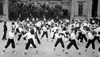 U.S. Naval Recruits In Boxing Instructions At The Main Barracks History - Item # VAREVCHISL034EC536