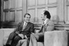 President Nixon And Canada'S Prime Minister Elliott Trudeau Meeting In Ottawa On April 14 1972. History - Item # VAREVCHISL033EC061