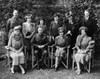British Royal Family. Seated History - Item # VAREVCPBDQUELEC094