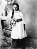 Hannah Milhaus At The Age Of 10. The Mother Of President Richard Nixon Grew Up In A Quaker Family. 1905. Csu ArchivesEverett Collection History - Item # VAREVCCSUA000CS664
