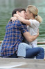Justin Long, Drew Barrymore On Location For Going The Distance Filming, Central Park, New York, Ny August 6, 2009. Photo By Kristin CallahanEverett Collection Celebrity - Item # VAREVC0906AGFKH007