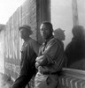 African American Seasonal Cotton Workers Waiting In Hopes Of Being Hired For A Day Of 'Chopping Cotton History - Item # VAREVCHISL010EC005