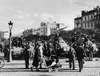 German Soldiers With Tanks And Civilians In Occupied Metz History - Item # VAREVCHISL036EC417