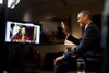 President Barack Obama Is Interviewed Via Youtube And Google At The White House. He Discussed His State Of The Union Address From The Roosevelt Room. Jan. 30 History - Item # VAREVCHISL040EC162