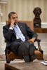 President Barack Obama Listens During To Advisors In The Oval Office. June 8 History - Item # VAREVCHISL039EC798